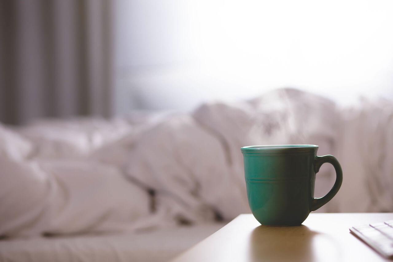 コーヒーとベッド