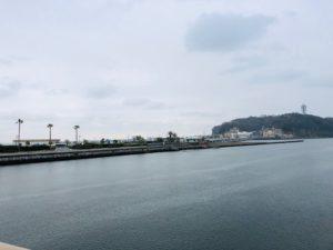 江の島に向かう