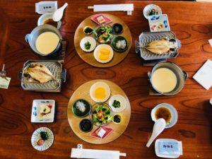箱根強羅深山朝食